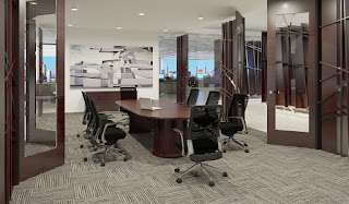 Elegant Boardroom Table