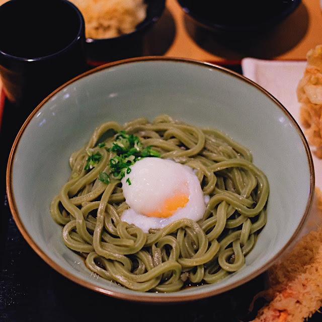 Kamatama Wakame Udon