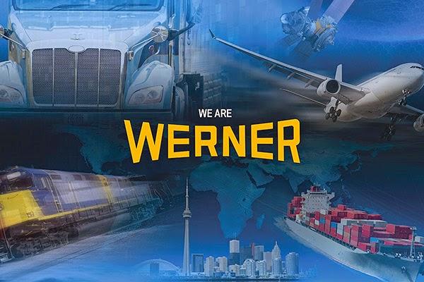 Doanh nghiệp vận tải Werner Bắc Mỹ