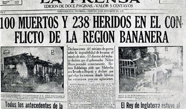 91 años atrás nuestro suelo se tiñó de sangre para complacer a EEUU. #MasacreDeLasBananeras #UnitedFruitCompany (UFCO)