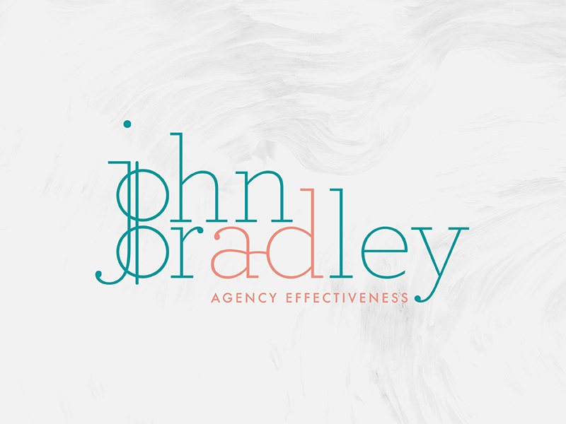 Logo design and sub mark for John Bradley, graphic designer in Birmingham