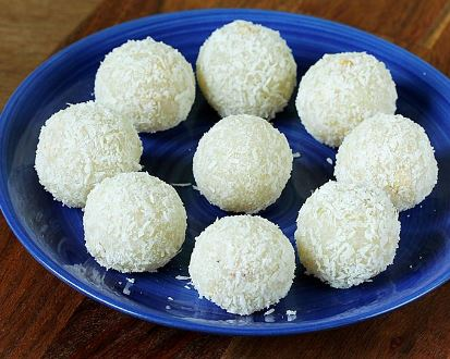 COCONUT BALLS RECIPE WITH CONDENSED MILK - Mystery Flavours