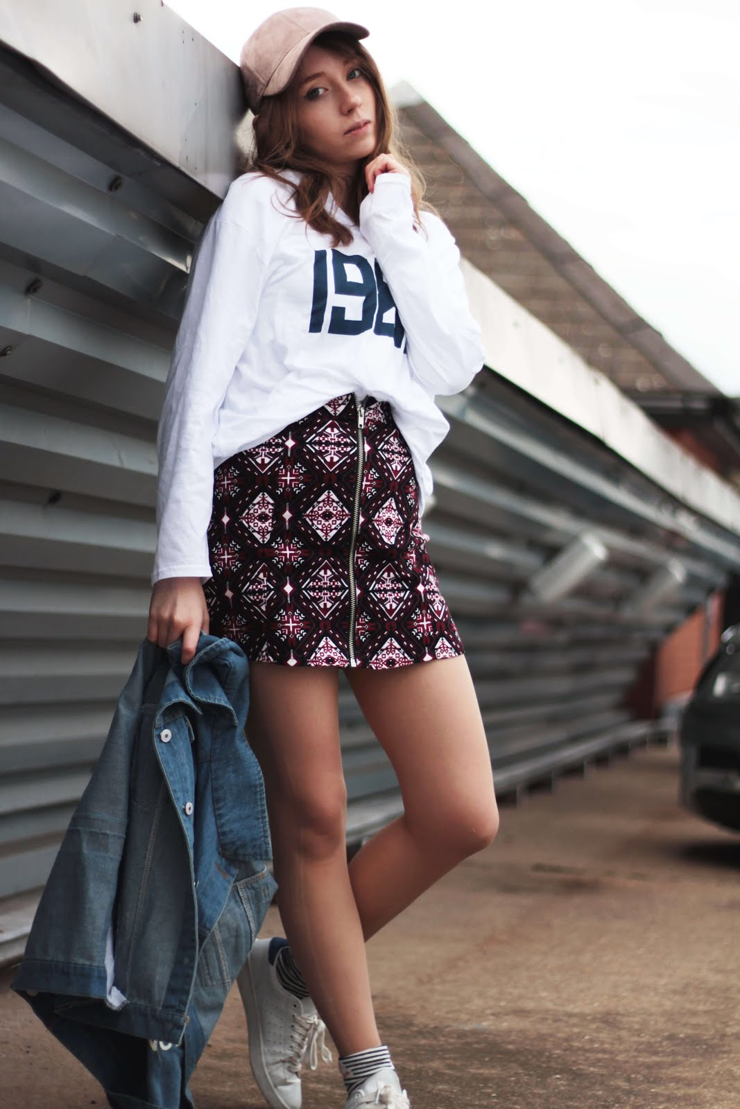 how to style a statement denim jacket