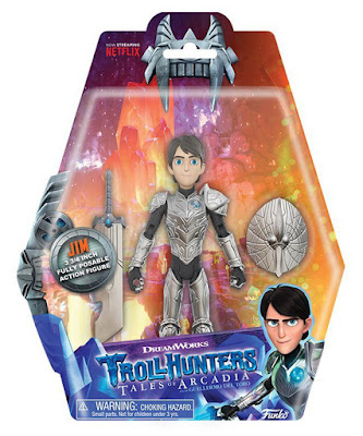 Toys : juguetes - TROLLHUNTERS Jim : Figura - Muñeco  Funko 2018 | Dreamworks Trollhunters Tales of Arcadia | Edad: +3 años  COMPRAR ESTE JUGUETE