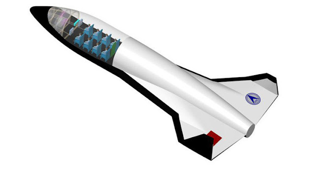 China construirá el avión espacial más grande del mundo con capacidad para 20 personas