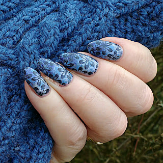 Blue Floral with Lina 4 Seasons - Spring 01