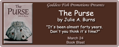 http://goddessfishpromotions.blogspot.com/2016/03/book-blast-purse-by-julie-burns.html