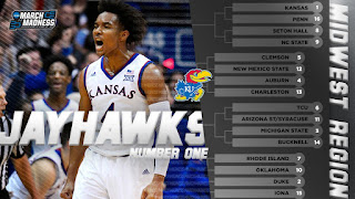 2018 NCAA Tournament March Madness Midwest Region