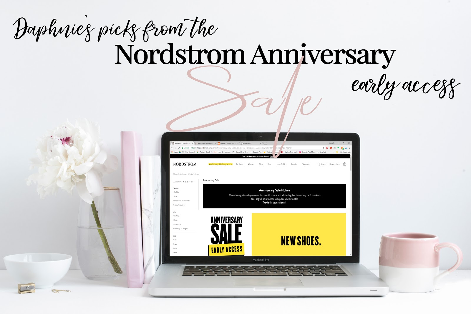 Daphnie's Picks from the Nordstrom Anniversary Sale Early Access Back to School Fall Shopping Outfit Idea Fashion