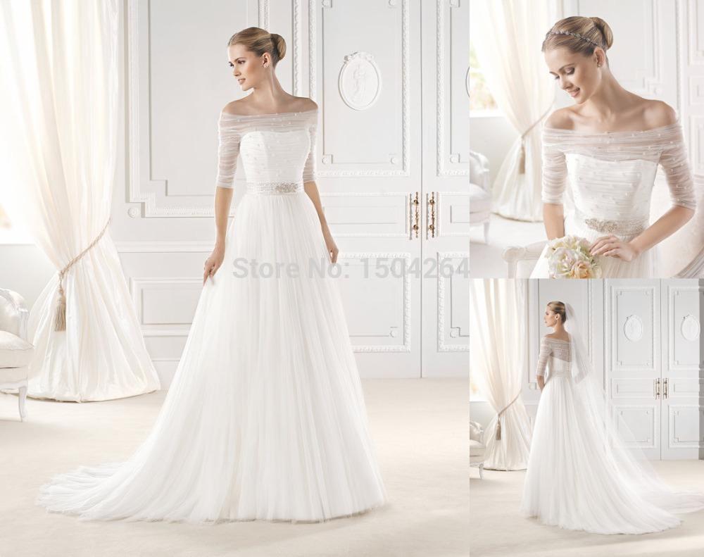 Chimakadharoka2012: Wedding Dresses With Sleeves Off The