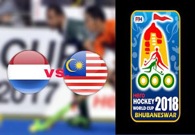 Live Streaming Belanda vs Malaysia Hoki Piala Dunia 1.12.2018