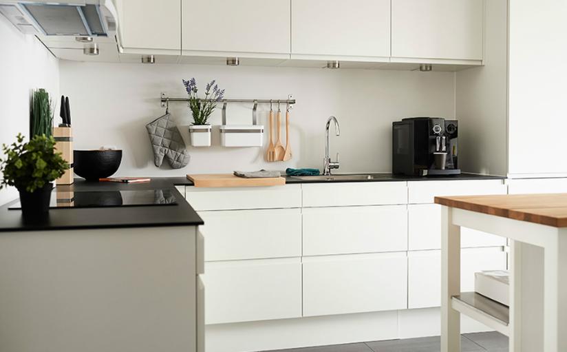Contoh Model Gambar Desain interior dapur dengan konsep yang minimalis Terbaru