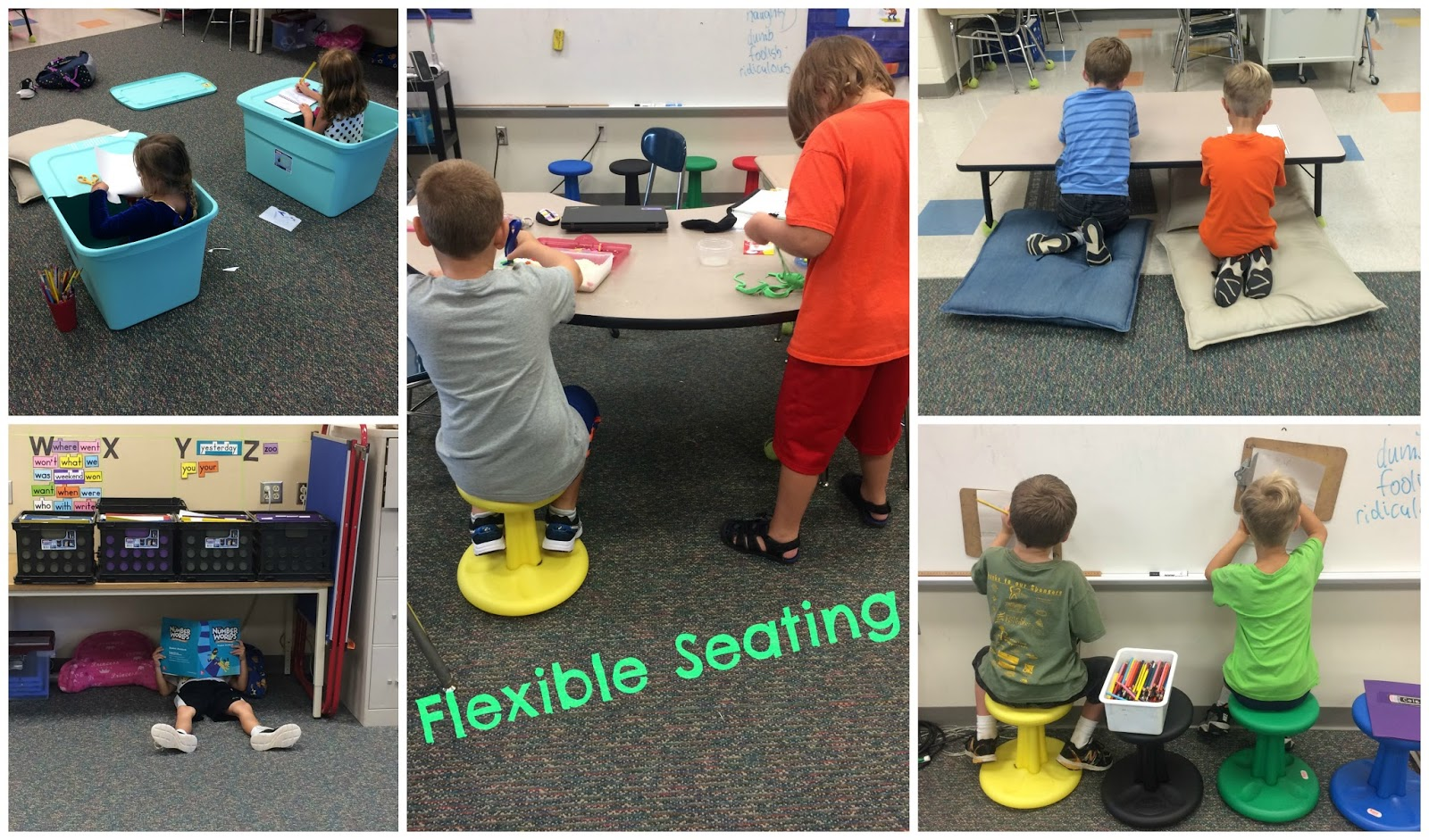 Hedgehog Blog Flexible Classroom Seating