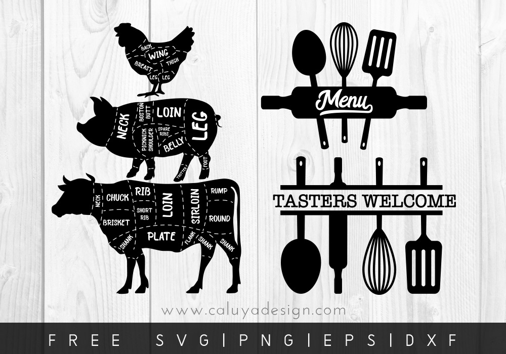 Download Free Kitchen & Baking Themed SVGs