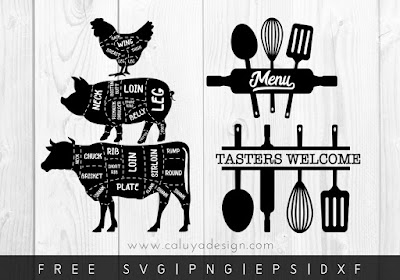 Download Where To Find Free Kitchen & Baking Themed SVGs