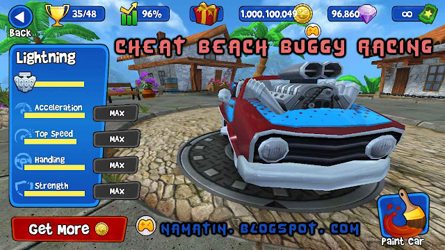 Cheat Beach Buggy Race 1 Milyar Koin