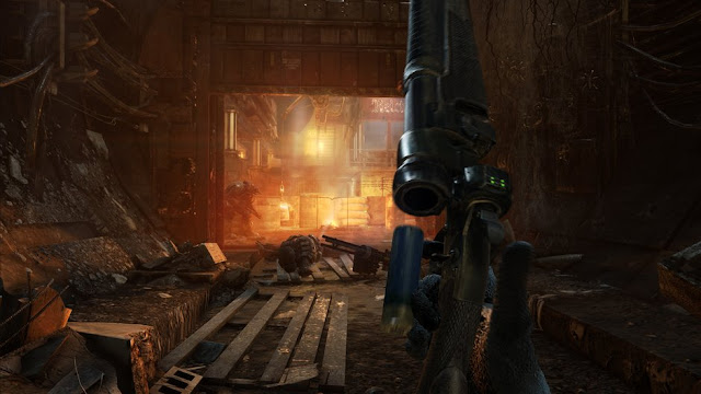 Metro Last Light Game Weapons