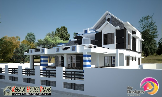 Latest and Modern house design in 2780 Sqft