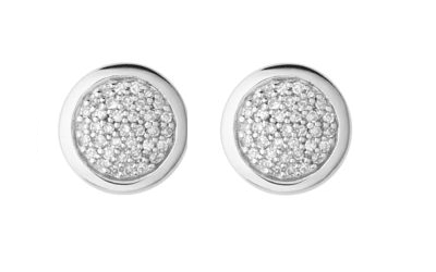 Links of London Sterling Silver Diamond pave studs Jewellery every woman should own