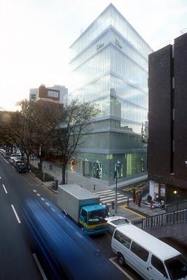 Proyecto en Tokio de SANAA