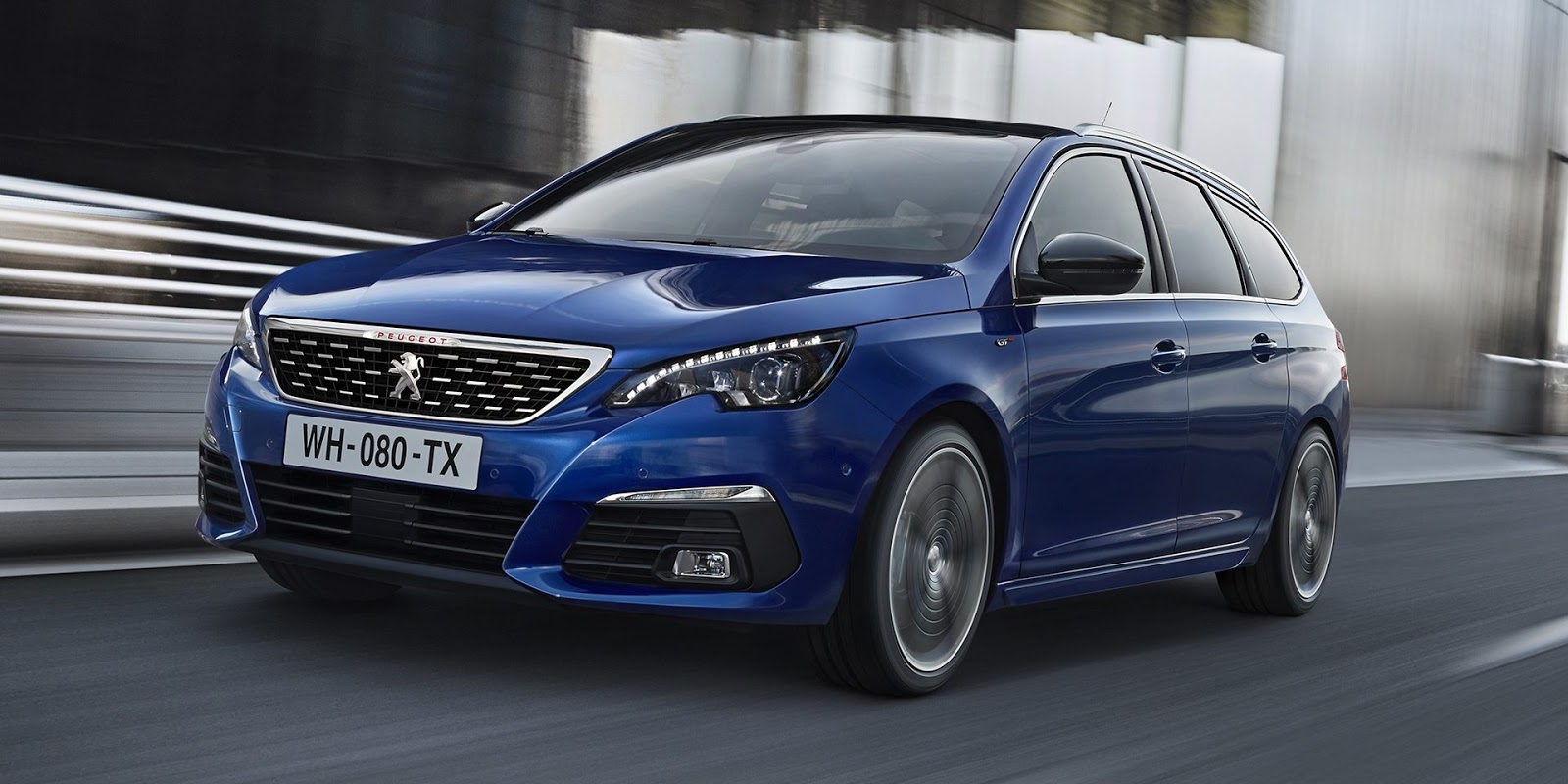 2018 peugeot 308 is the mildest of facelifts carscoops. Black Bedroom Furniture Sets. Home Design Ideas