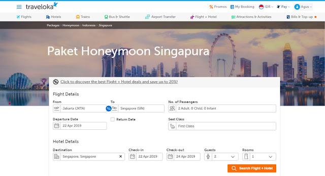 Tempat Romantis Untuk Honeymoon di Singapura