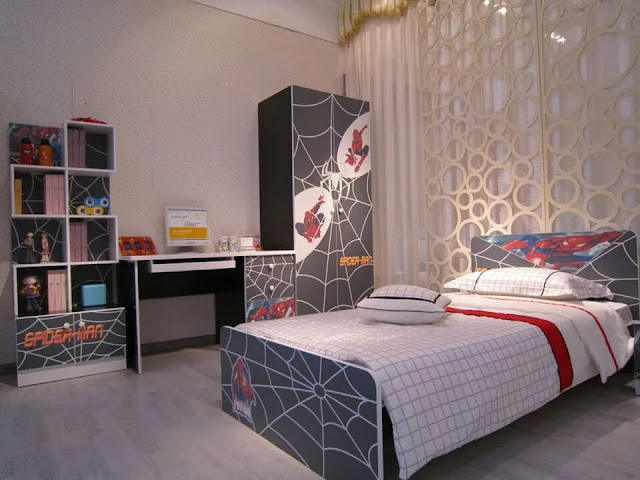 phòng ngủ bé trai - mẫu 12
