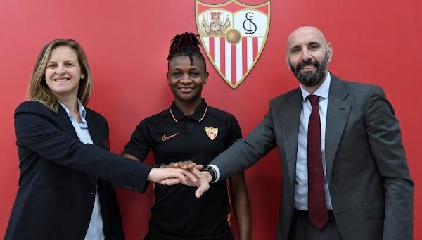 Oficial: Sevilla Femenino, Uchenna Kanu ficha por el equipo