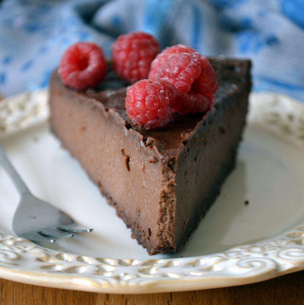 sernik-czekoaldowy1 Czekoladowy sernik z mascarpone