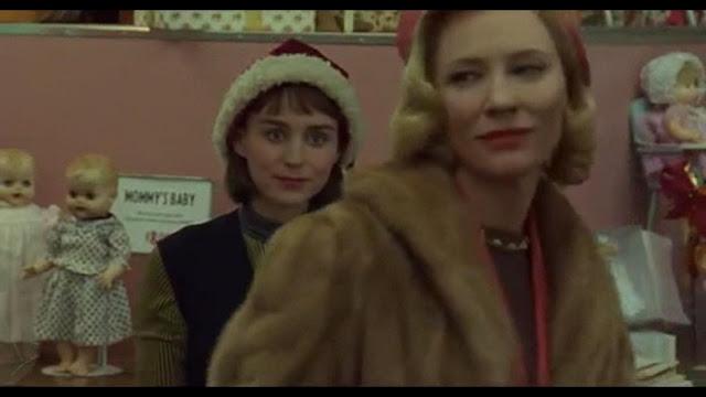 Cate Blanchett et Rooney Mara dans Carol, de todd Haynes (2015)