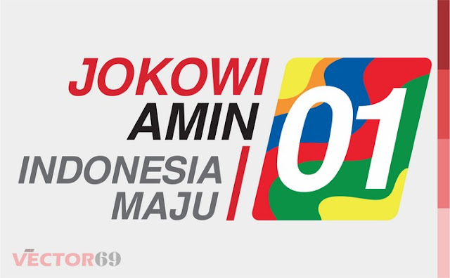 Logo Kampanye Jokowi-Amin Capres 01 Indonesia Maju - Download Vector File PDF (Portable Document Format)