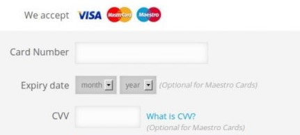 Intext : Cvv 2021, 2022 Credit Card Number Active, Working and Valid