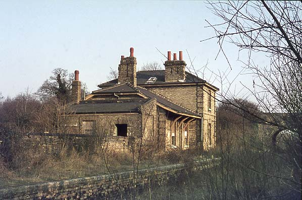 Pampisford Station  (From Disused Stations website)