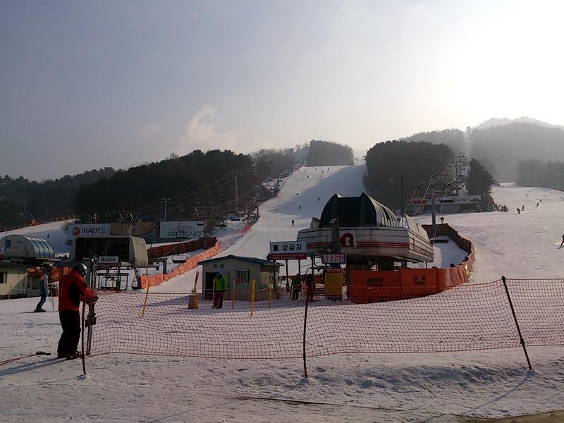 韓國滑雪,熊成滑雪場,首爾附近滑雪場