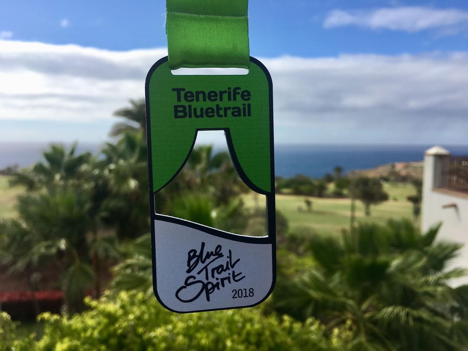 Cajamar Bluetrail Tenerife Teneriffa Medaille