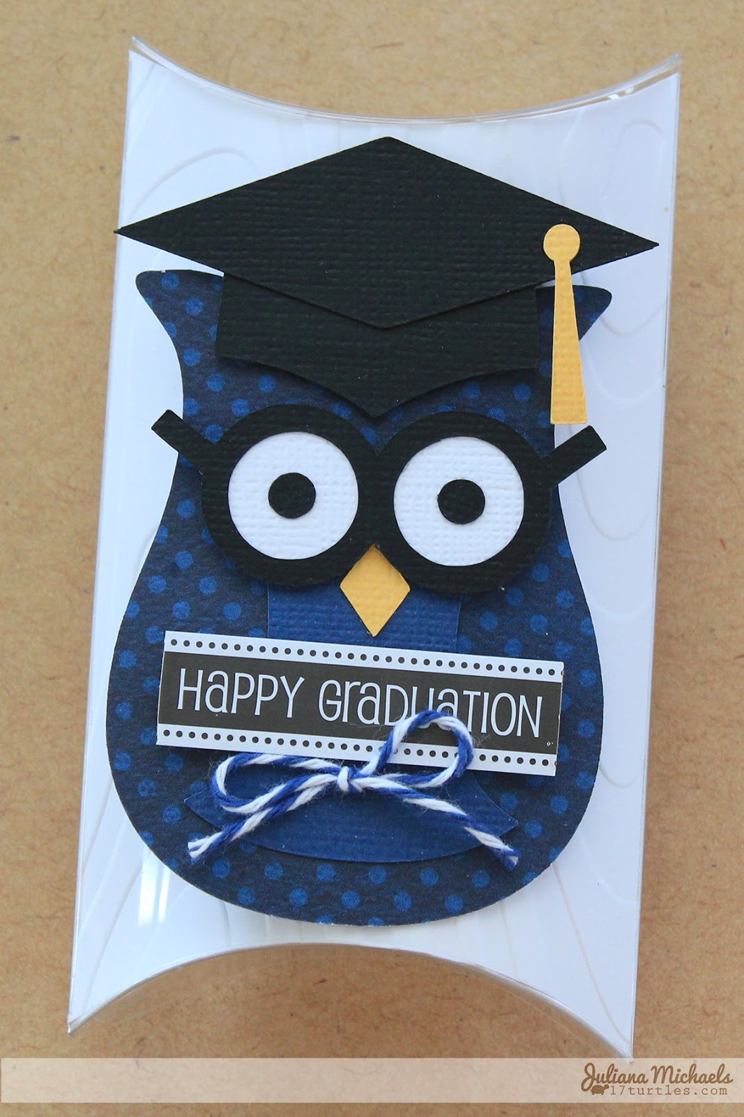 Owl Happy Graduation Gift Card Holder by Juliana Michaels for SRM Stickers