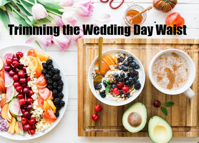 Too many brides-to-be worry about their waistlines before the BIG day. Find out the best ways to trim your waist and be perfect for your wedding.