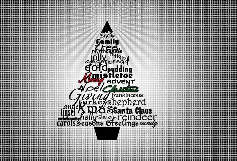 How To Make A Trendy Christmas 2011 Wallpaper In Photoshop