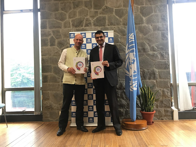 Tata group launches report on its contribution towards the Sustainable Development Goals