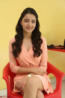 Rukshar Mir in a Peachy Deep Neck Short Dress 058.JPG