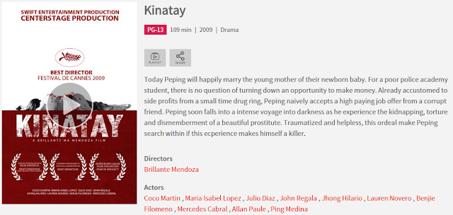 kinatay watch online