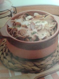Almejas o chirlas a la cazuela