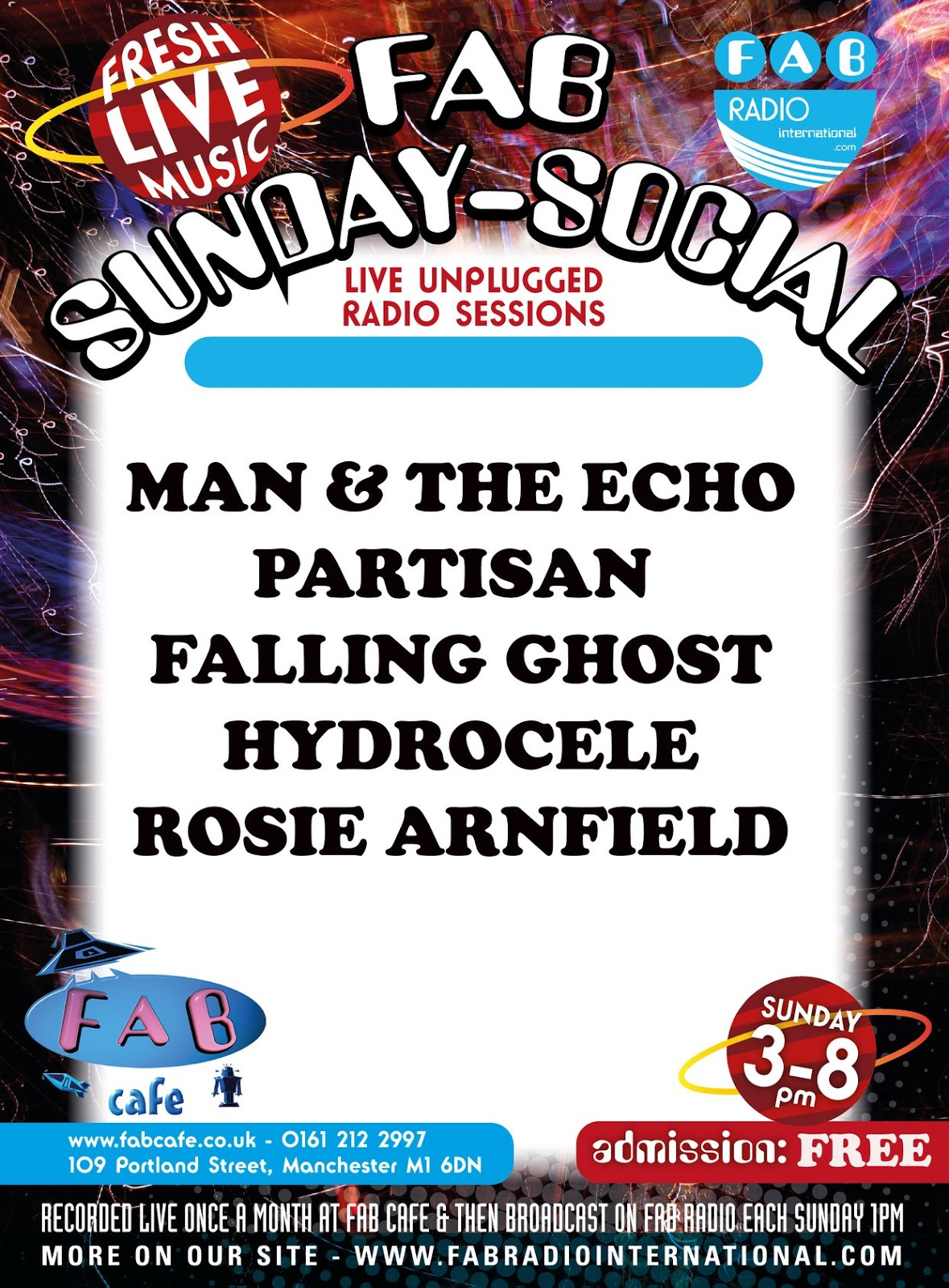 FAB Radio Sunday Social