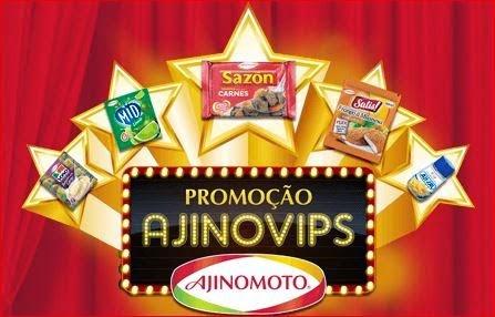 Promoção Ajinovips da Ajinomoto