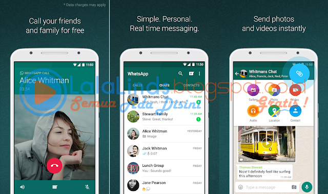 Download WhatsApp Messenger 2.17.223 APK Terbaru