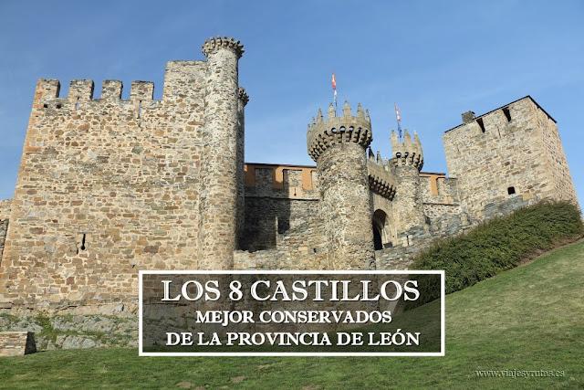 Los 8 castillos mejor conservados de León