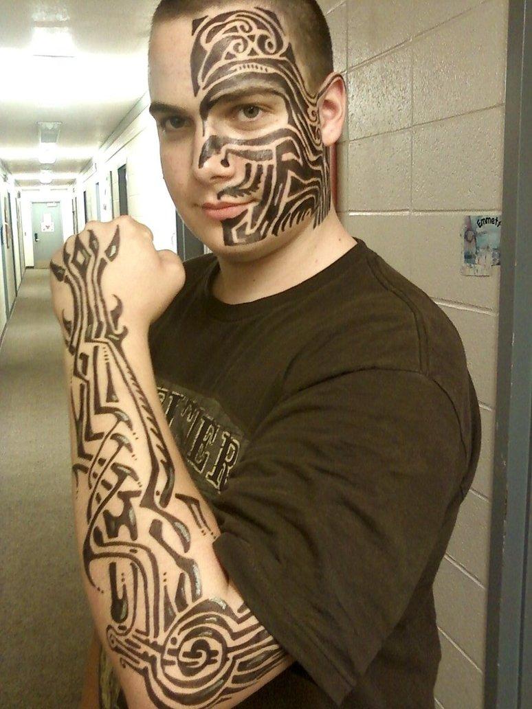 Tribal Tattoo Designs For Men Forearm
