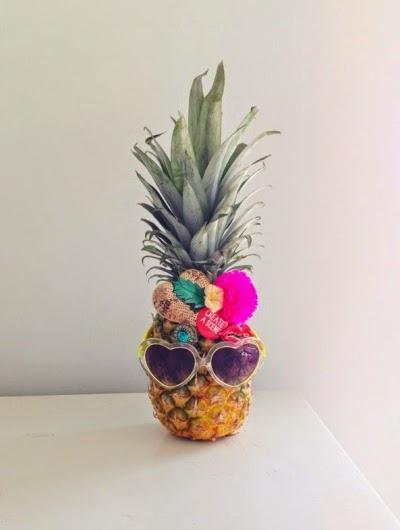 ananas déguisé