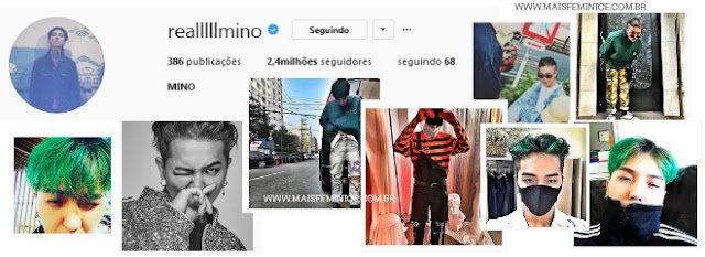 Instagram do Mino