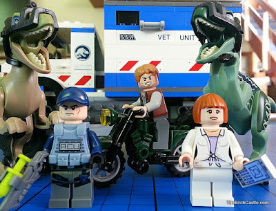 Raptor Rampage Jurassic World LEGO Review set 75917